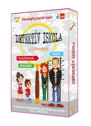 Könyv - Készségfejlesztőkártyák - Detektíviskola