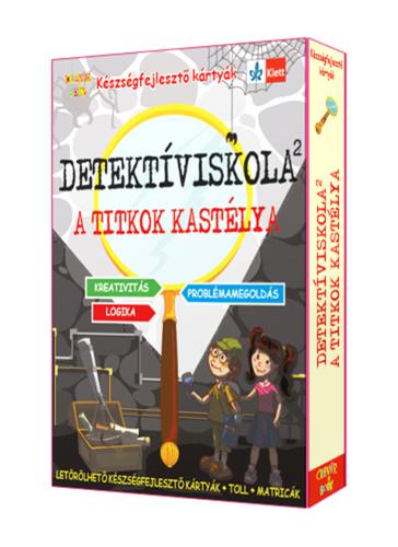 Könyv - Készségfejlesztőkártyák - Detektíviskola 2. A titkok kastélya