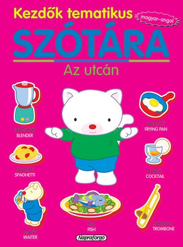 Könyv - Kezdők tematikus szótára magyar-angol - Az utcán