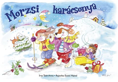 Könyv - Kifestőfüzet ovisoknak - Morzsi karácsonya