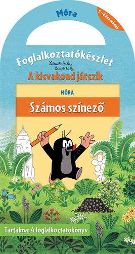 Könyv - Kisvakond játszik - foglalkoztatókészlet