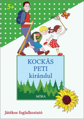 Könyv - Kockás Peti kirándul