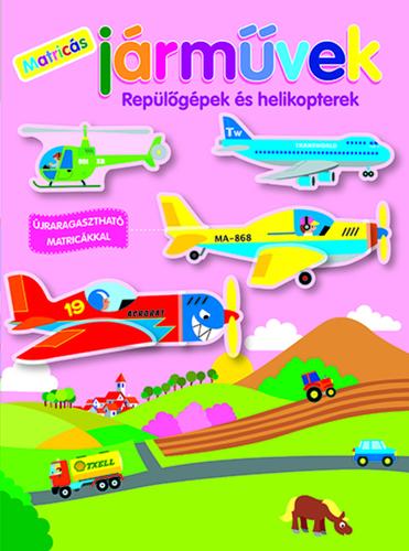 Könyv - Matricás járművek - Repülőgépek és helikopterek