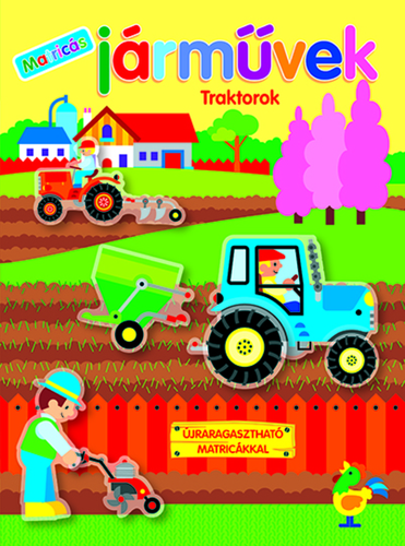 Könyv - Matricás járművek - Traktorok