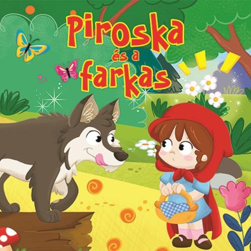Könyv - Mesés lapozó - Piroska és a farkas