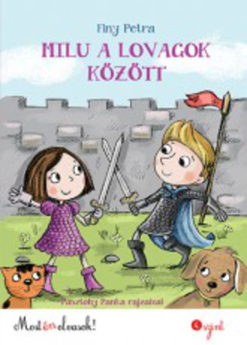 Könyv - Milu a lovagok között