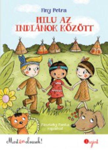 Könyv - Milu az indiánok között