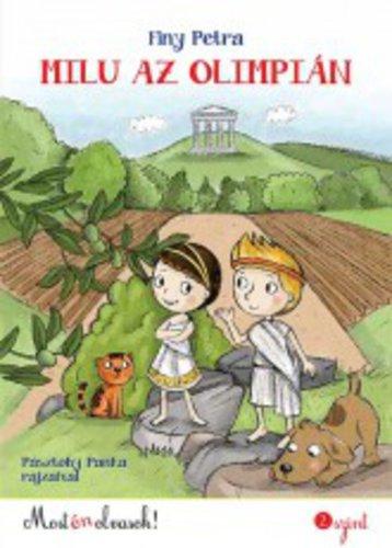 Könyv - Milu az olimpián