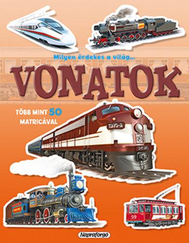 Könyv - Milyen érdekes a világ - Vonatok
