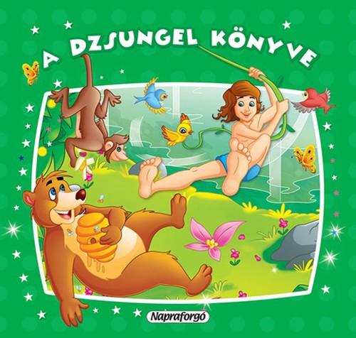 Könyv - Mini pop-up - A dzsungel könyve