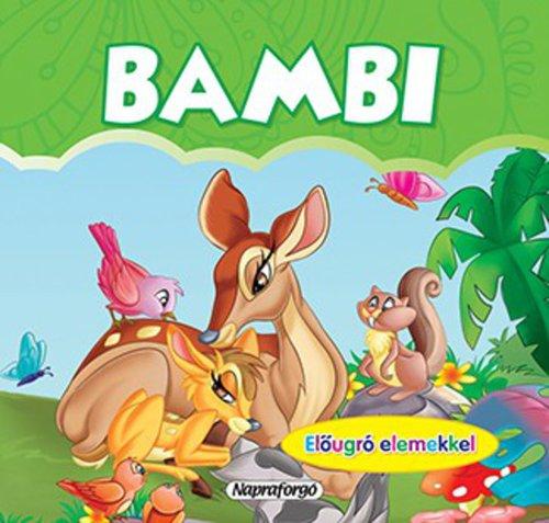 Könyv - Mini pop-up - Bambi