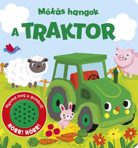 Könyv - Mókás hangok - A traktor
