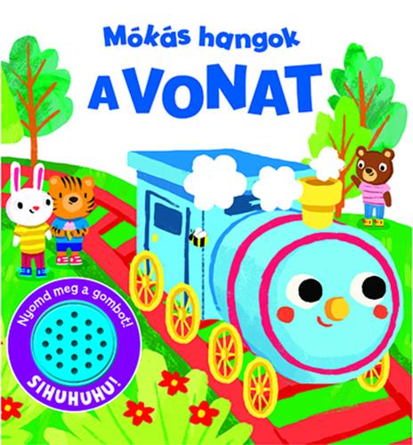 Könyv - Mókás hangok - A vonat