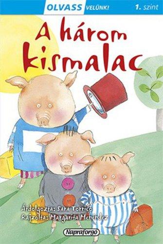 Könyv - Olvass velünk! A három kismalac