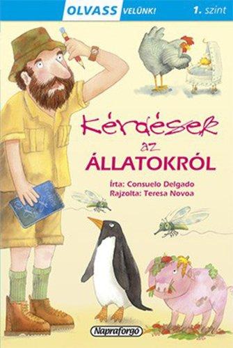 Könyv - Olvass velünk! Kérdések az állatokról