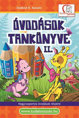 Könyv - Óvodások tankönyve II.