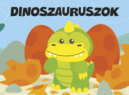 Könyv - Pancsolókönyv szivaccsal - Dinoszaurusz