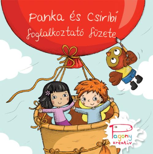 Könyv - Panka és Csiribí foglalkoztató