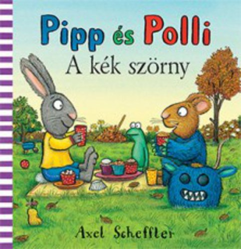 Könyv - Pipp és Polli - A kék szörny