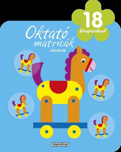 Könyv - Oktató matricák - Játékok 18 hónap