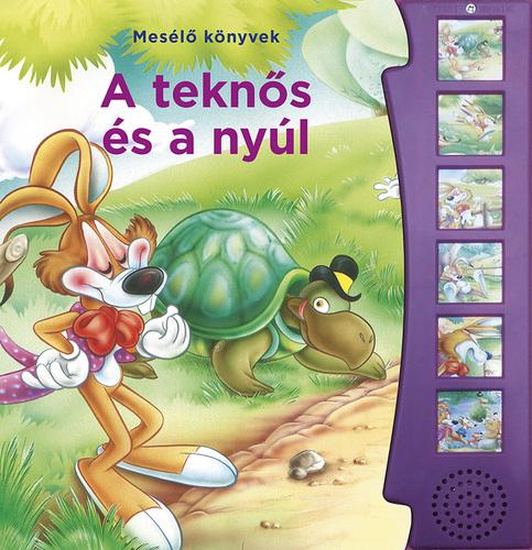 Könyv - Mesélő könyvek - A teknős és a nyúl