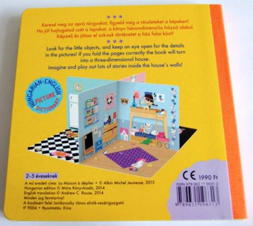 Könyv - A ház - térbeli lapozó angol-magyar