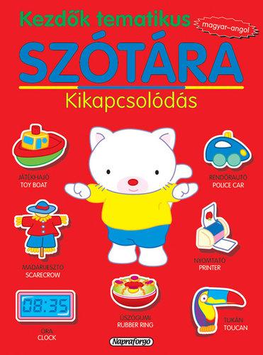 Könyv - Kezdők tematikus szótára magyar-angol - Kikapcsolódás