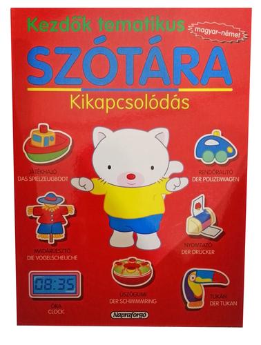 Könyv - Kezdők tematikus szótára magyar-német - Kikapcsolódás