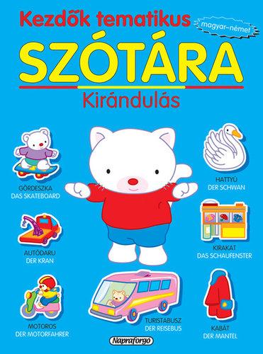 Könyv - Kezdők tematikus szótára magyar-német - Kirándulás