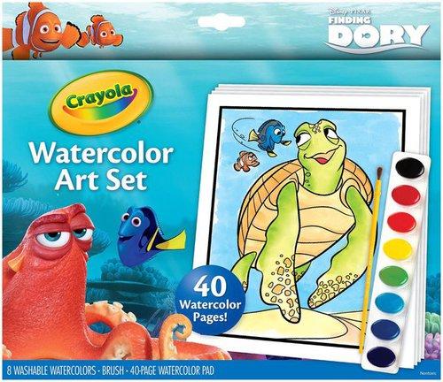 Crayola Szenilla Kifestő festékkel #04-6892