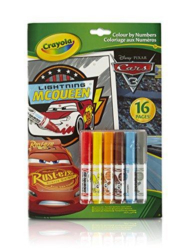 Crayola Színezz számokkal Verdák #04-0289