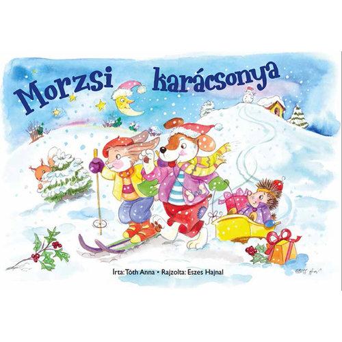 Kifestőfüzet ovisoknak - Morzsi karácsonya