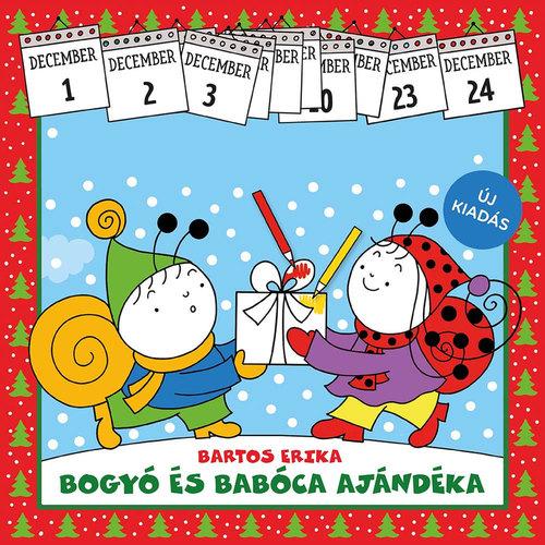 Könyv - Bogyó és Babóca ajándéka - adventi kifestő füzet