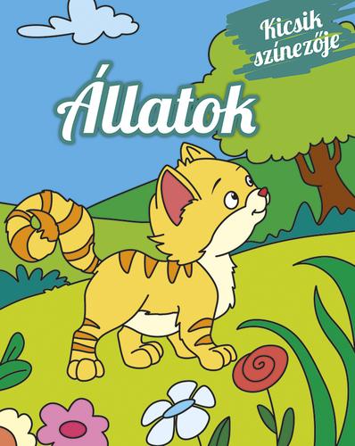 Könyv - Kicsik színezője - Állatok