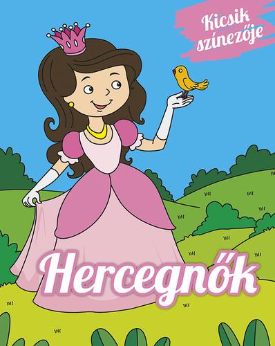 Könyv - Kicsik színezője - Hercegnők