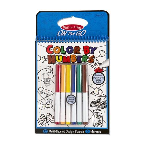 Melissa and Doug Kreatív játék színezz szám szerint #5378