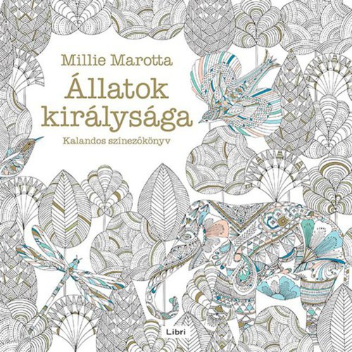 Könyv - Az állatok királysága - felnőtt színező könyv