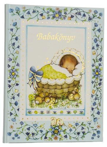 Könyv - Babybruin Babakönyv #Kék #211002-127654