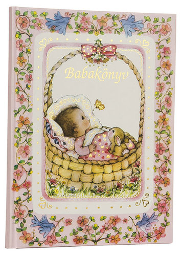 Könyv - BRUIN Babakönyv #Rózsaszín #211002-127654