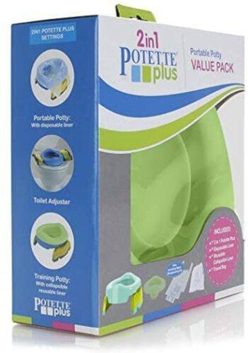 Potette Plus Utazó bili szett #Green új