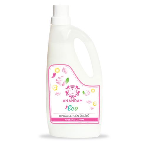 Anandam ECO Öblítő Hipoallergén - citrom-rózsa 1L
