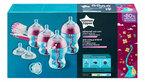 Tommee Tippee Advanced Anti-Colic Újszülött cumisüveg kezdőszett #rózsaszín #422713