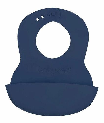 Babyono előke műanyag puha állítható #skék #835-407523