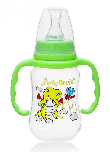 Babybruin polipropilén cumisüveg fogóval #125ml #zöld sárkányos #55042882-114166