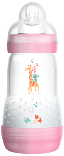 Mam Anticolic cumisüveg 260ml #animal pink #391194