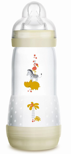 Mam Anticolic cumisüveg 320ml #törtfehér zebra #676642 2019