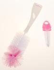 Babybruin Cumi- és cumisüvegmosó kefe készlet #rózsaszín #55042394