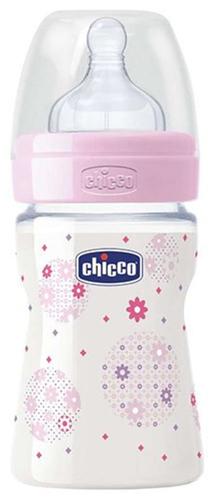 Chicco Cumisüveg szilikon Wellbeing 150ml #lány #CH020611104