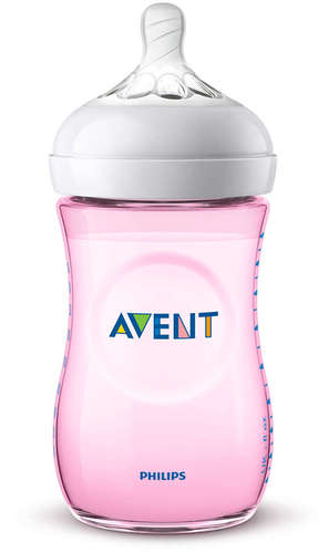 Philips Avent Natural cumisüveg #260ml #pink