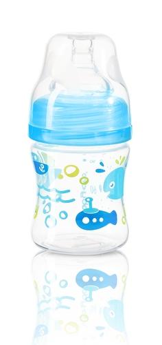 Babyono cumisüveg szélesnyakú anticolic 120ml #402 #kék